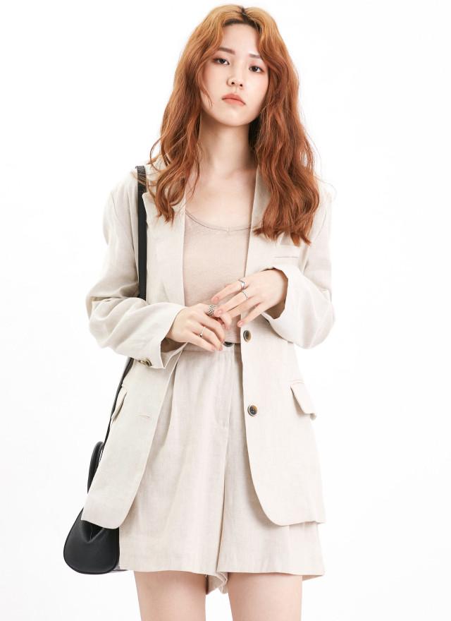O0624珀希西裝外套(兩色)
