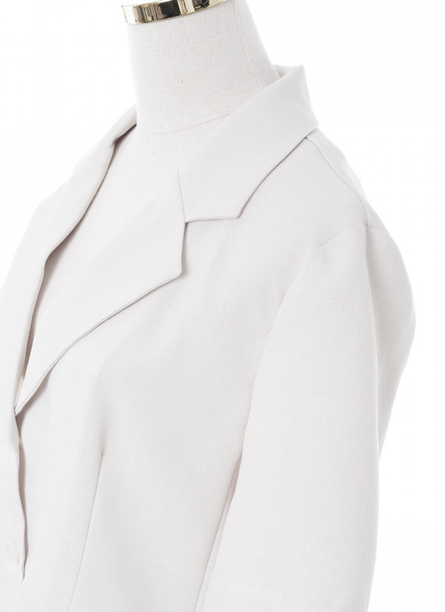 O0626諾娜五分西裝外套(兩色)