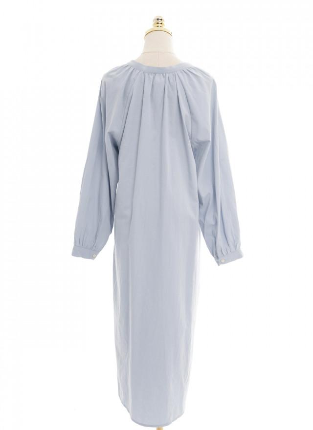 D1157娜洛V領綁繩洋裝