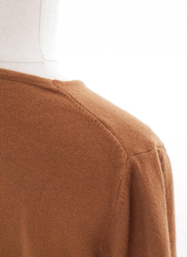 T1622薇思V領細織上衣(四色)
