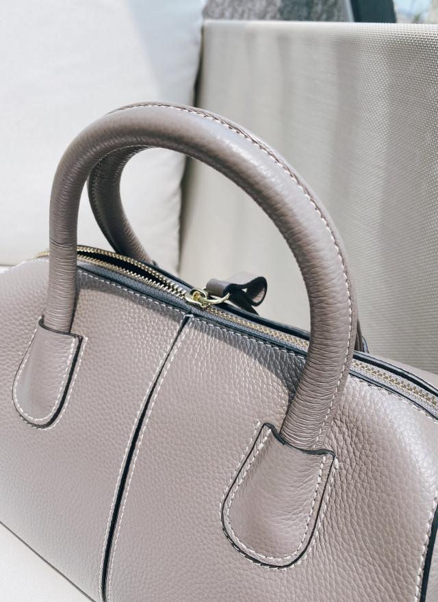 BA0183艾菲車線牛皮肩背包(兩色)