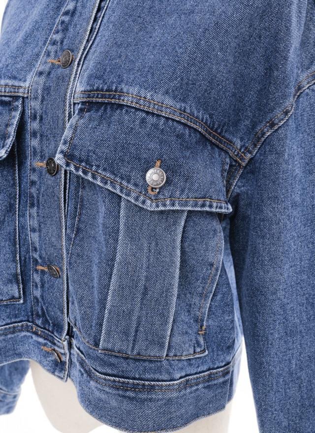 O0636德莎水洗丹寧外套(兩色)