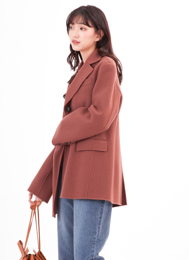 O0598百匯托尼手工羊毛外套(兩色)