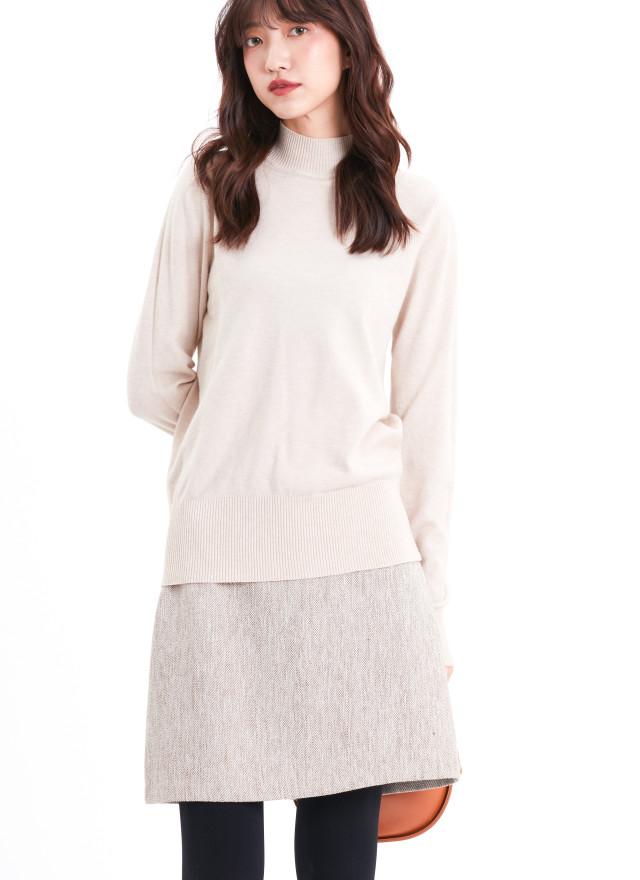 T1674沛亞微領針織上衣(三色)