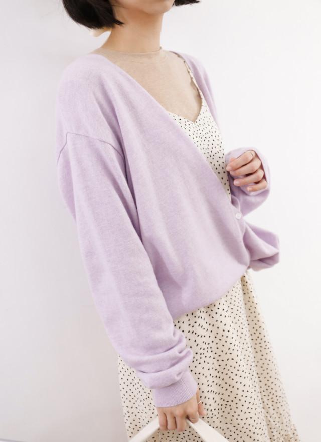 T1758春香V領排釦罩衫