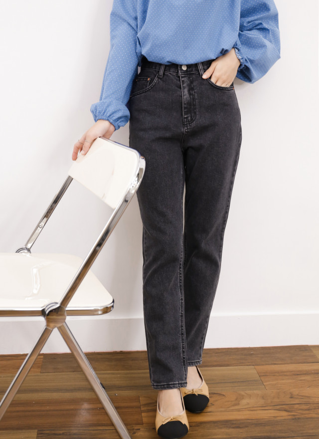 P0370卡莉蜜黑牛仔褲
