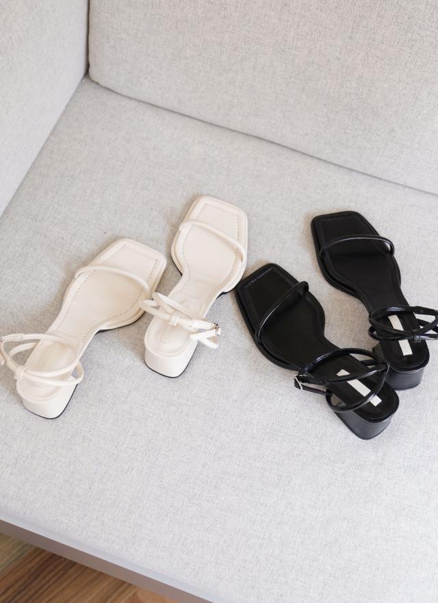 SH0256南希細帶方根涼鞋(兩色)