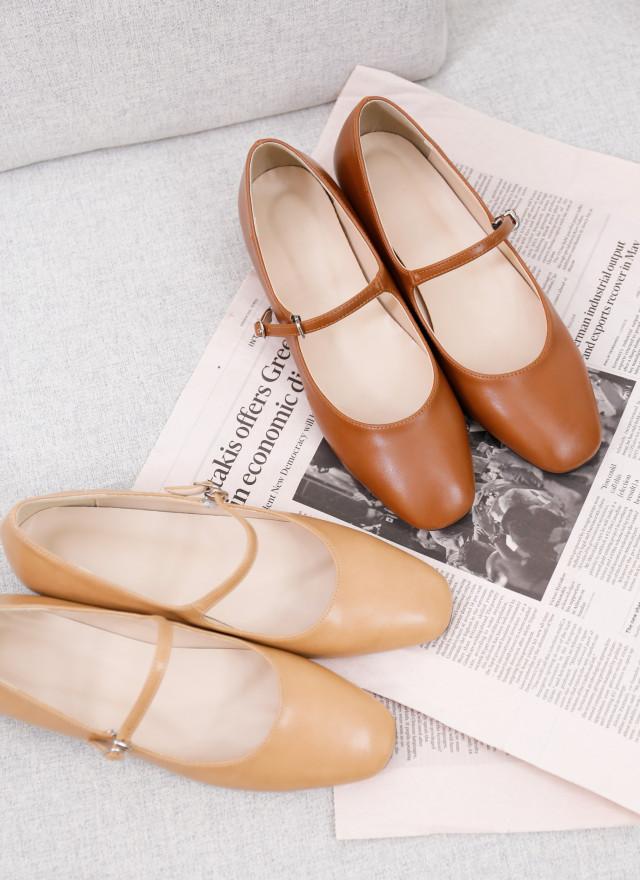 SH0261帕菲繫帶娃娃鞋(兩色)