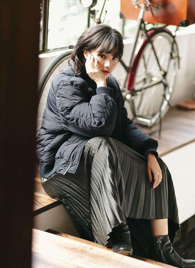 O0191溫暖蓬鬆羽絨飛行外套(特惠)