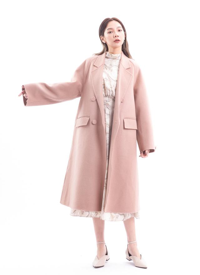 O0572布拉格愛戀手工羊毛大衣