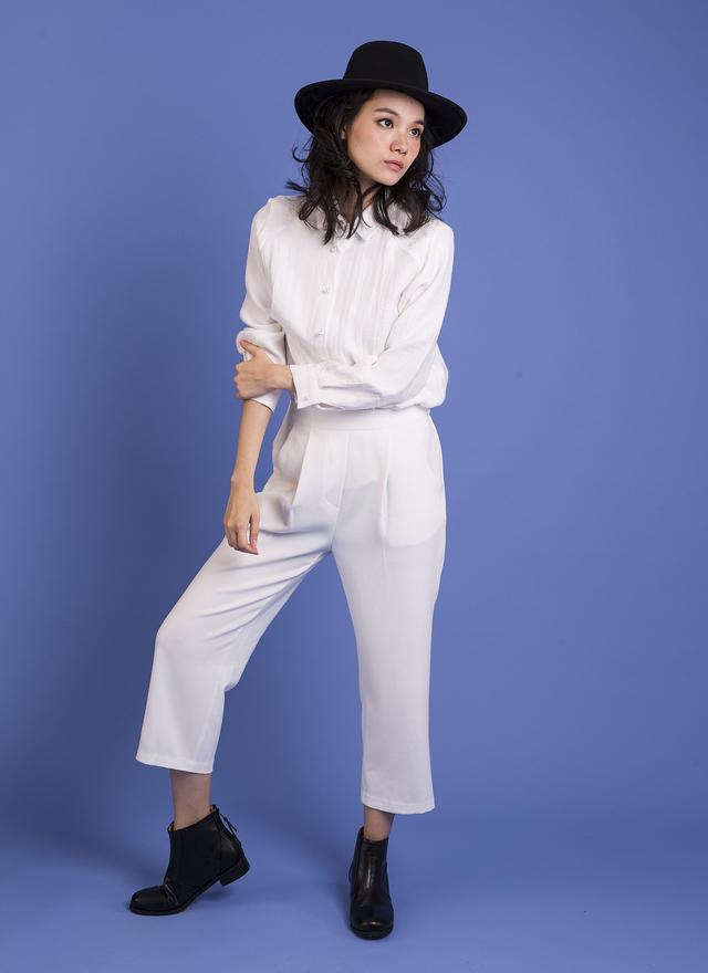T0347 風尚奢華珍珠襯衫