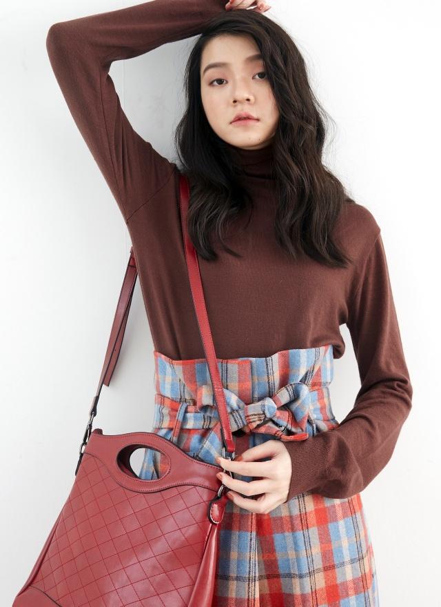 T1208舒服高領針織衫(三色)