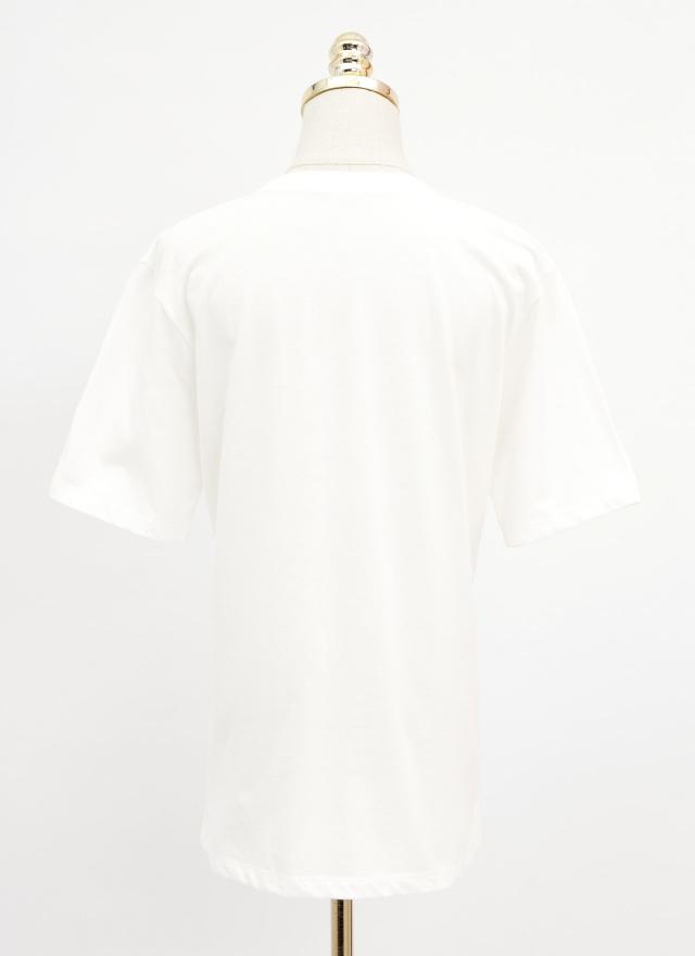 T1518another純白tee恤
