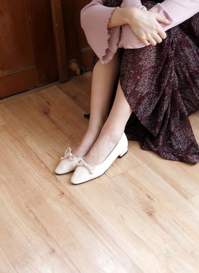 SH0155 迷人蝶結平底鞋