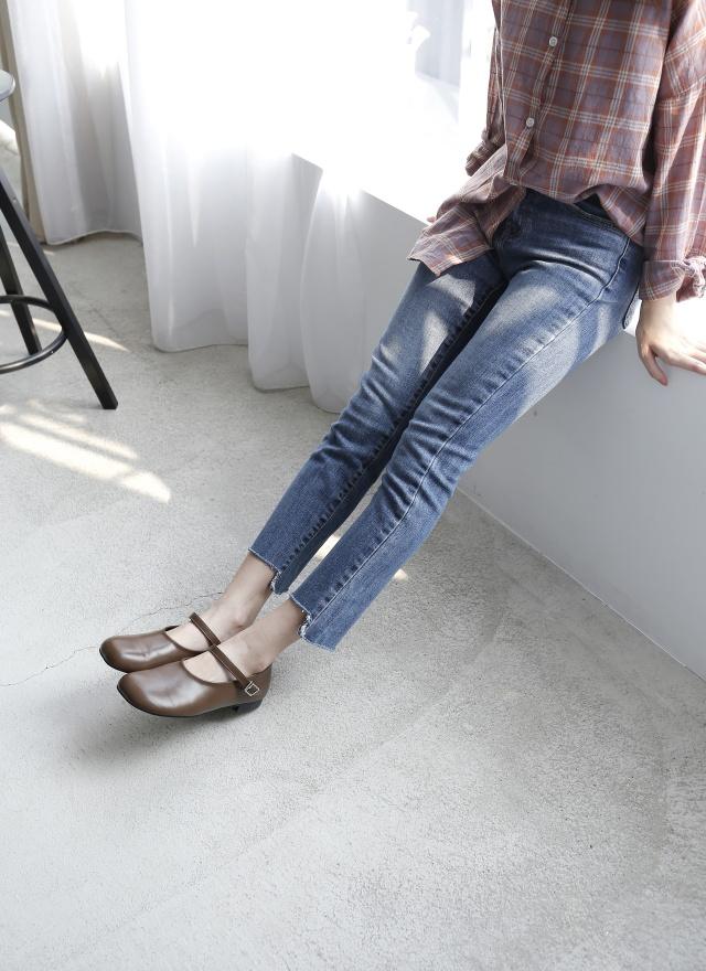 SP0002 訂製中青色牛仔褲