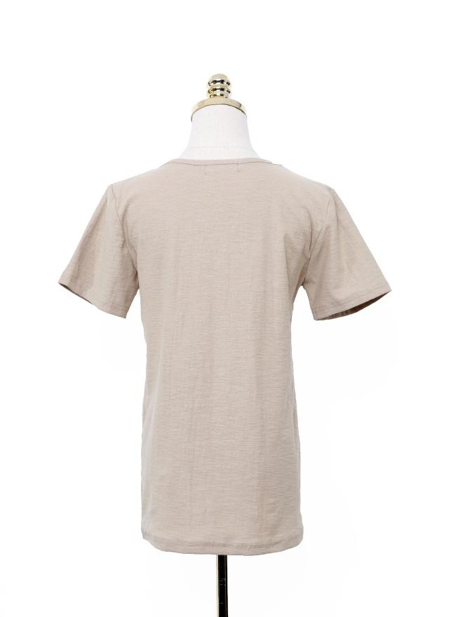 T1057 百搭經典純色上衣 (兩色)