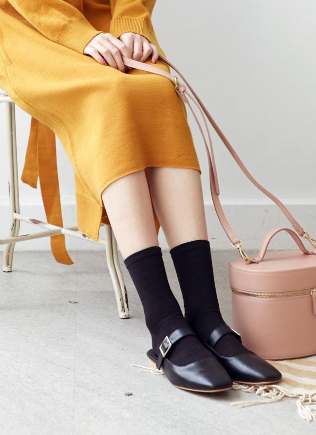 SH0161 淑女娃娃穆勒鞋