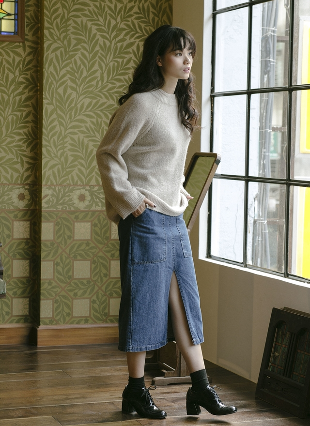 T0524 溫柔軟綿綿針織上衣