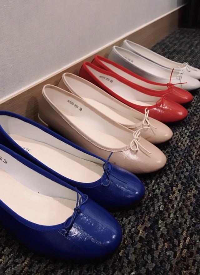SH0072 魅力紋路矮跟娃娃鞋