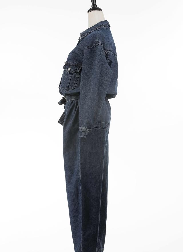 P0141 率性牛仔連身褲