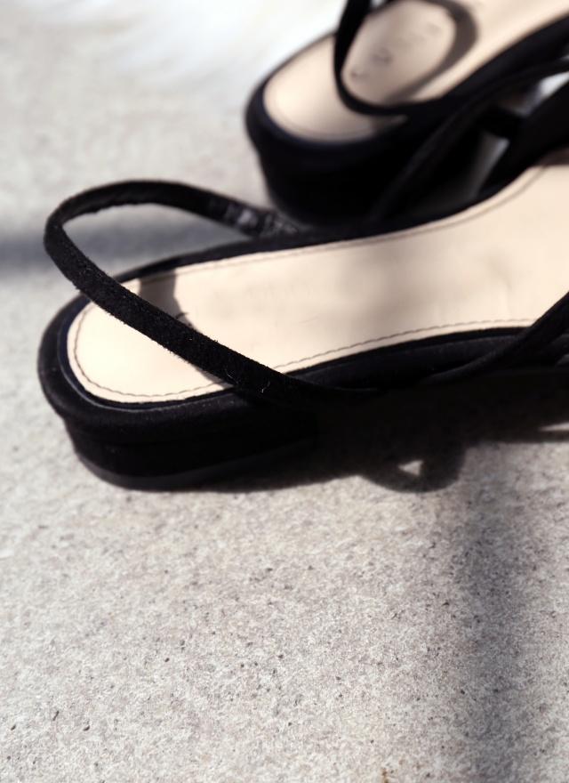 SH0159 立體點綴尖頭鞋