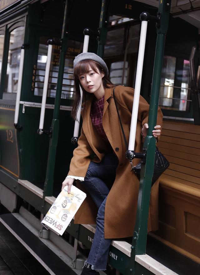 O0251 經典美人雙釦羊毛大衣(三色)