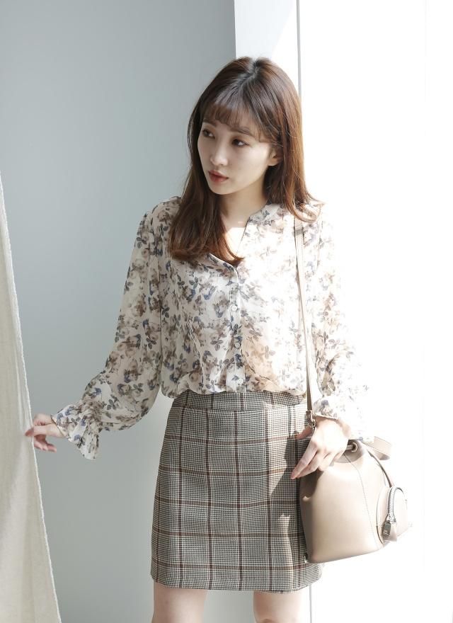 P0240 學院風格紋片裙(特惠)