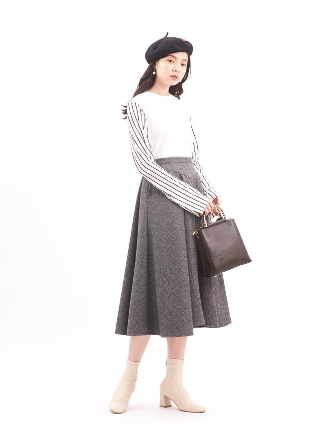 L0001時尚拼接條紋上衣(訂製)