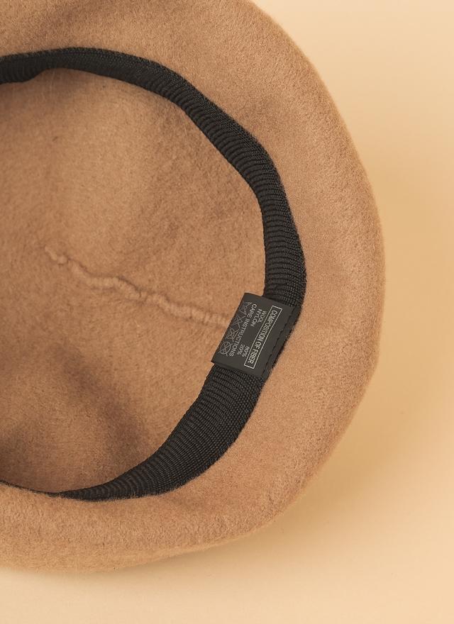 A0095 質感經典羊毛貝蕾帽