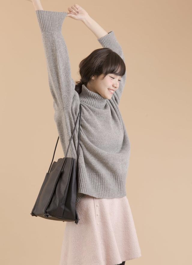 T0392 柔和高領針織毛衣