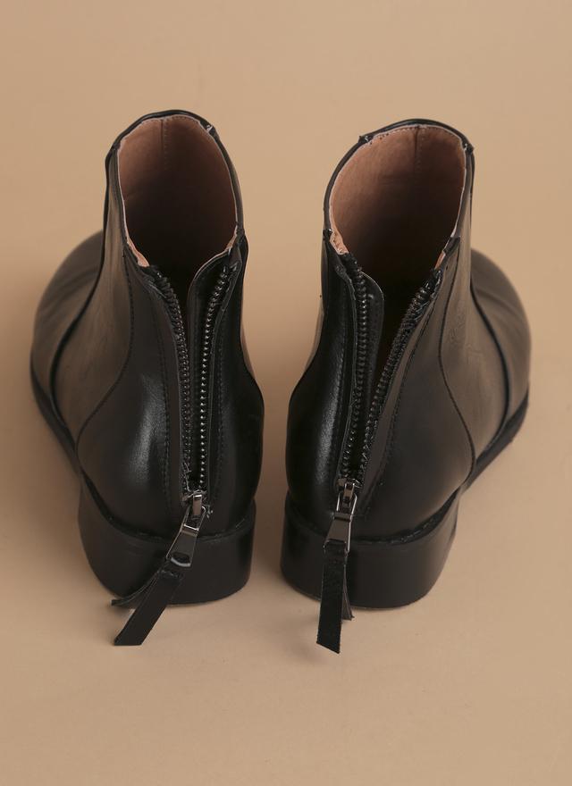 SH0041 立線質感皮革短靴