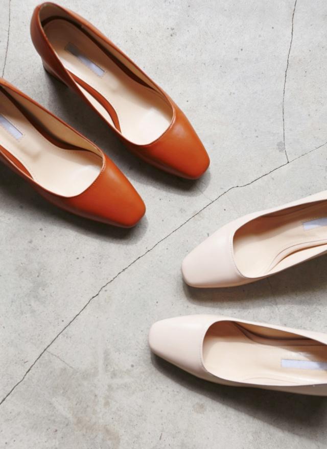 SH0127 氣質淑女方粗跟鞋
