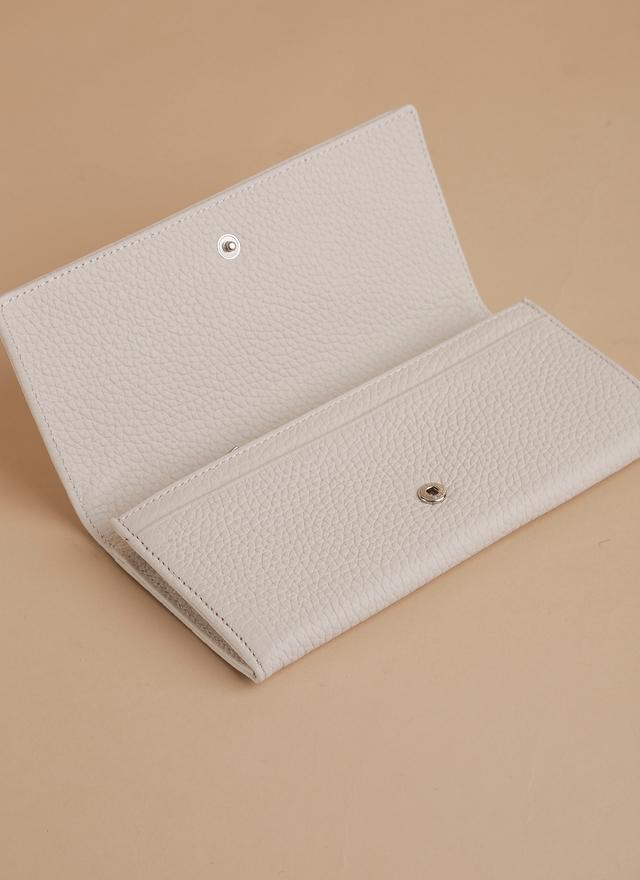 BA0056 俐落線條皮革長夾