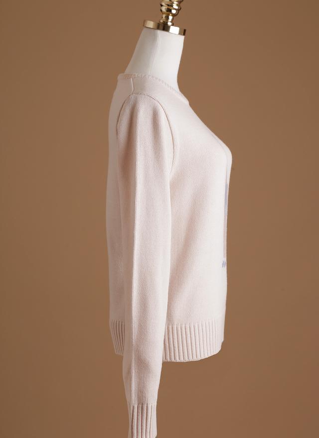 T0344 嫩粉睡衣先生針織衫