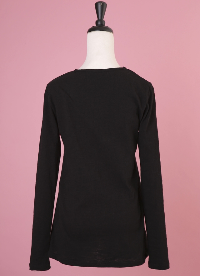 T0484 簡單黑色素上衣