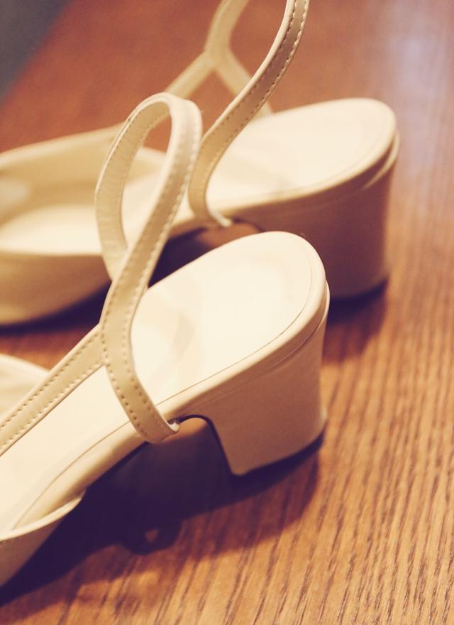 SH0049 雙色拼接小香鞋