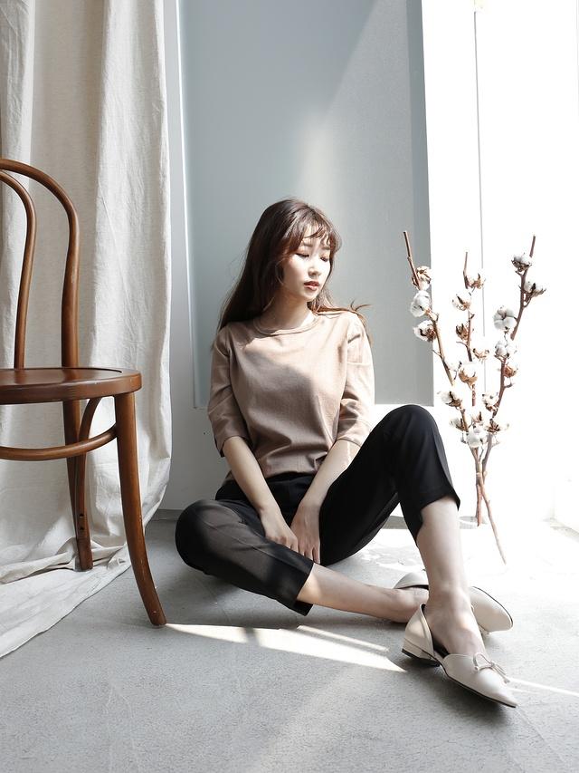 P0243淑女剪裁西裝褲(特惠)