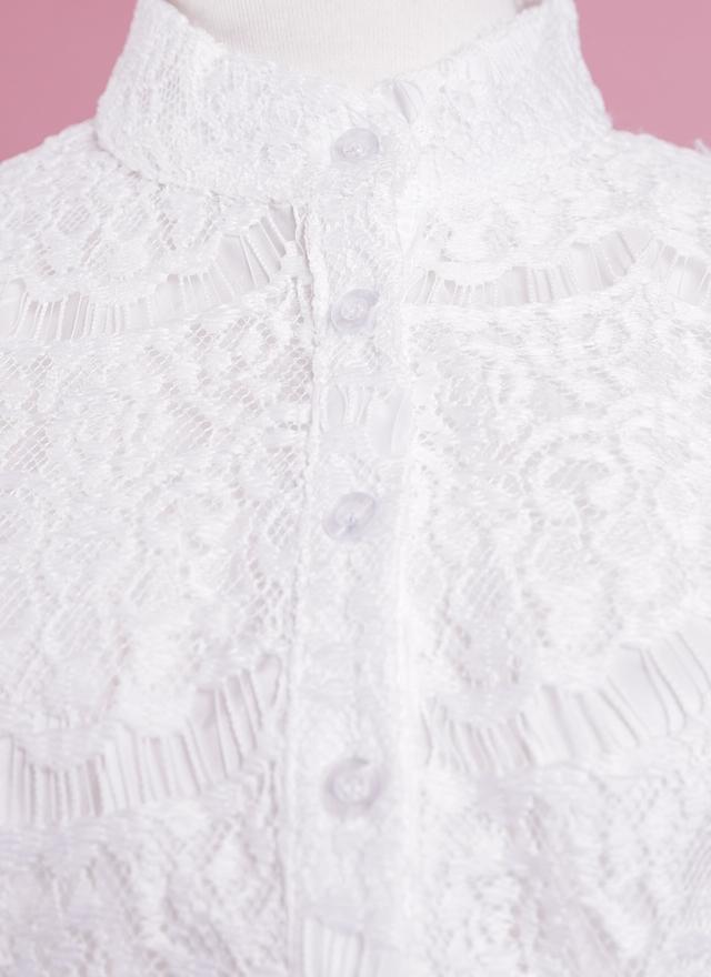 D0307 細緻蕾絲氣質洋裝(附腰帶)