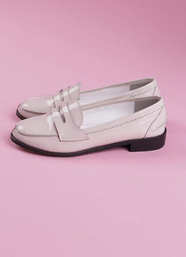 SH0053 極美漆皮平底鞋