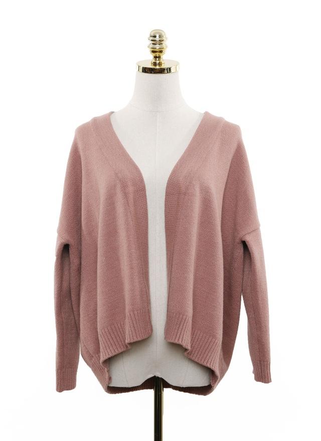 O0422 溫暖多色開襟外套