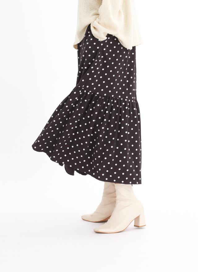 S0874海薇點點造型裙(兩色)