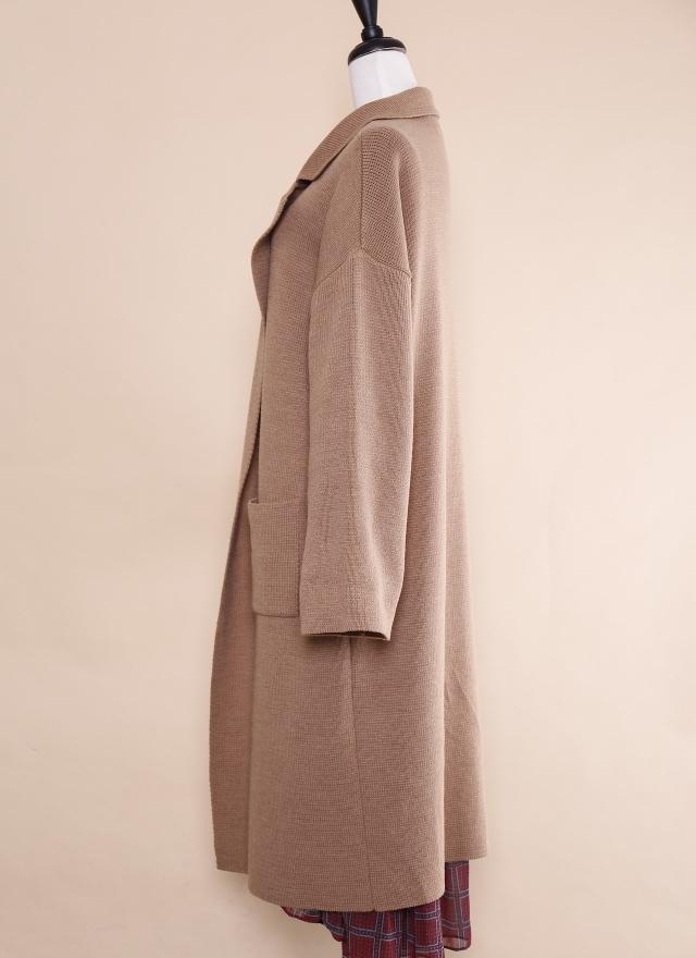 O0202 知性風雅針織開衫外套