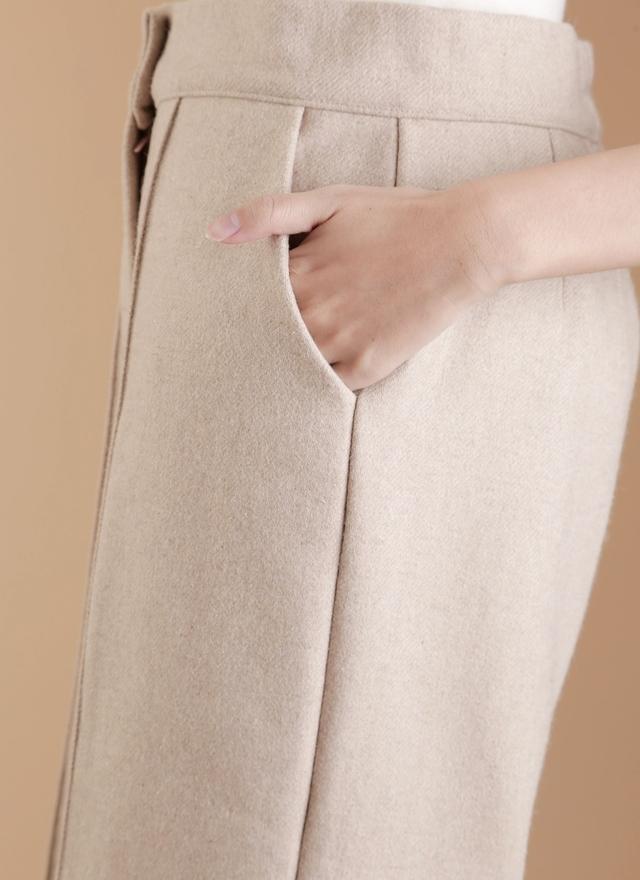P0122 挺質毛呢西裝褲