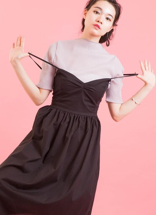 D0337 芭蕾女伶綁帶洋裝