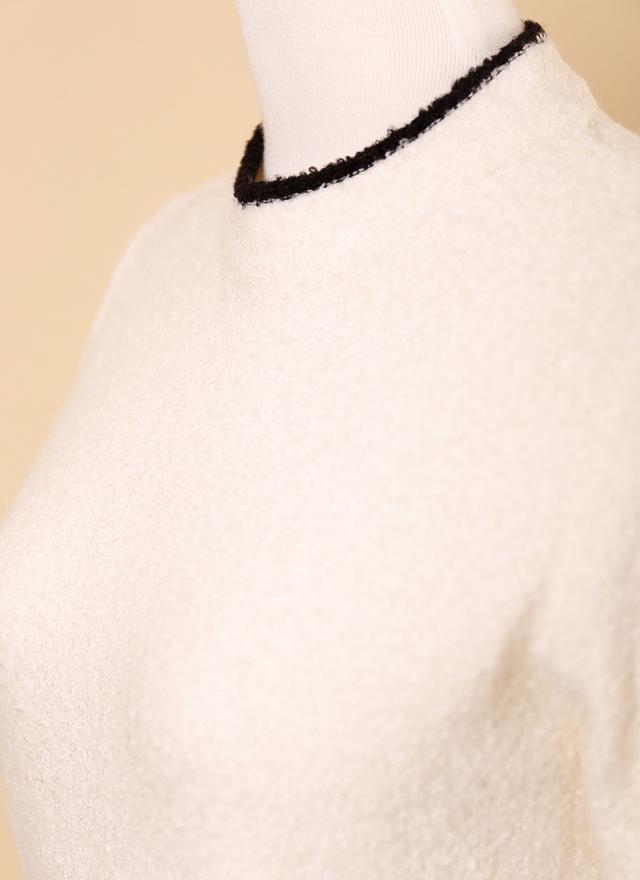 T0545 素雅毛料微領上衣