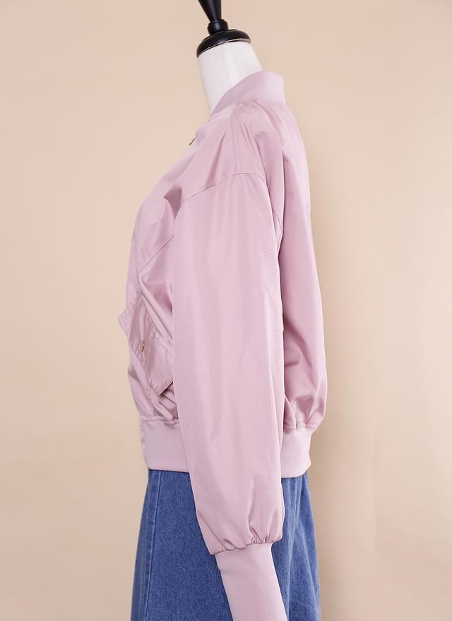 O0201 春日粉嫩飛行外套