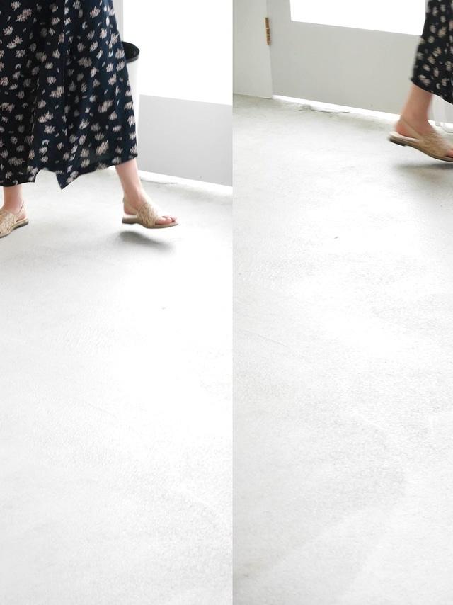 SH0151 圖騰編織感平底鞋(兩色)
