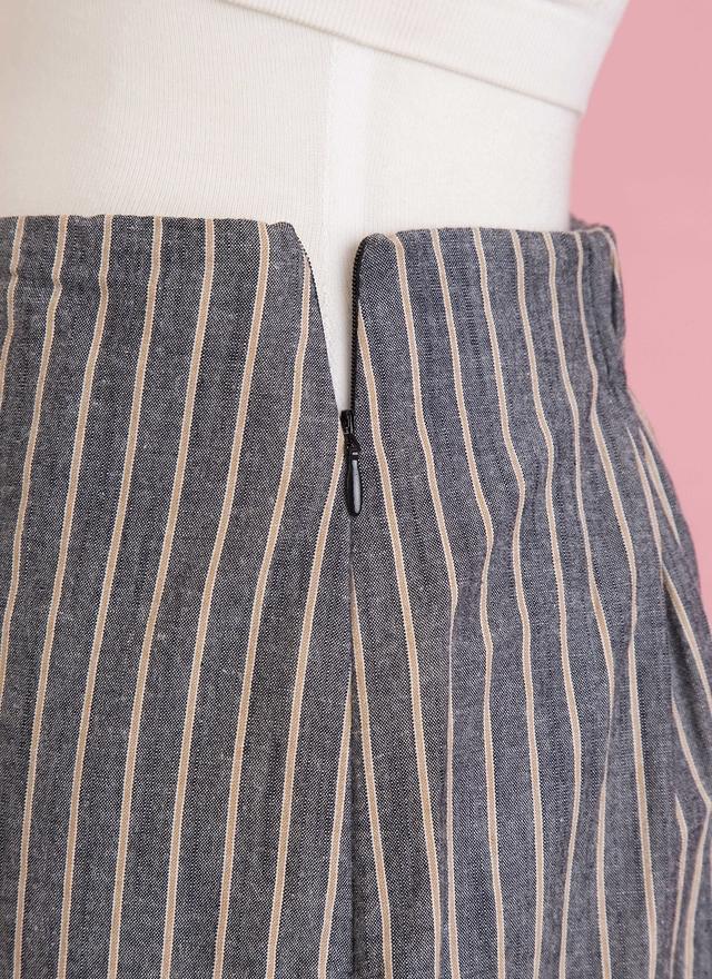 S0316 魚尾直線花邊窄裙