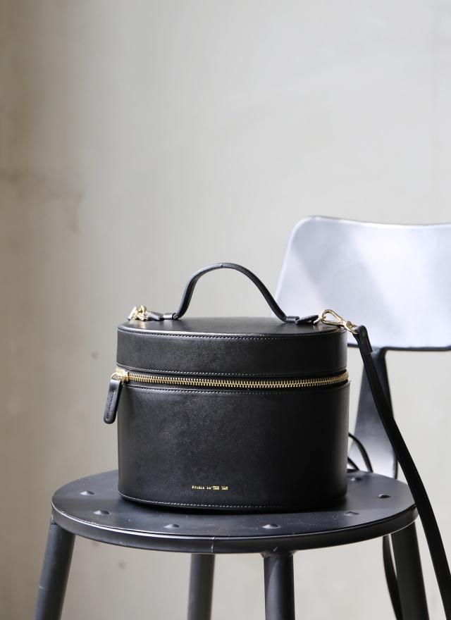 BA0122 優雅女孩皮革手提筒包