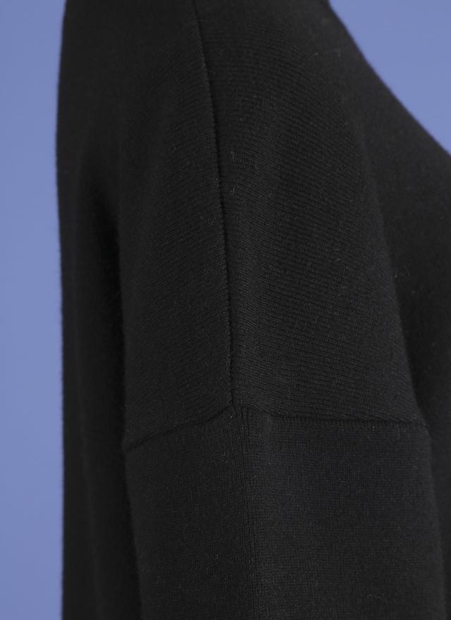 D0260 異質拼接微領針勾洋裝